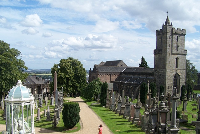 visit the Church of the Holy Rude Stirling