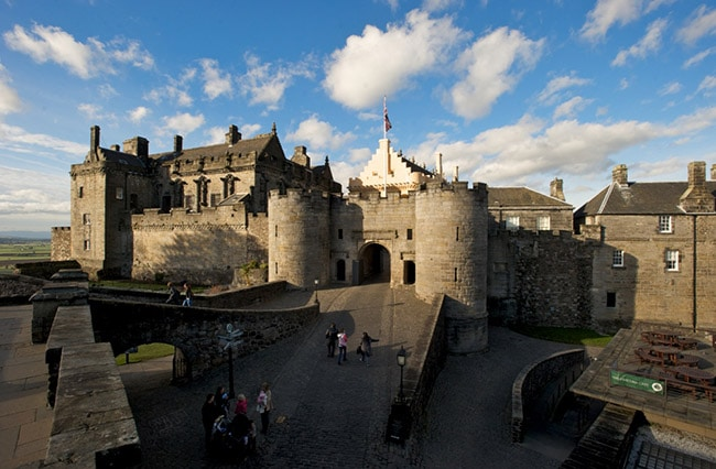 guided tours of Stirling Castle