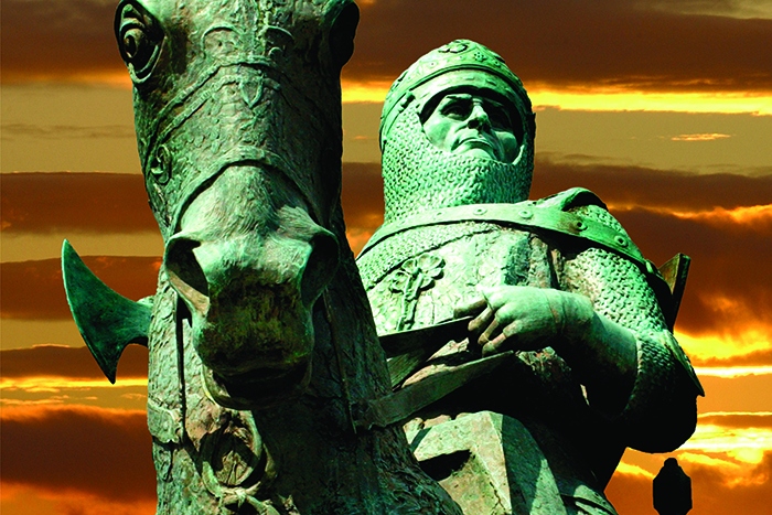 battle of Bannockburn tours robert the Bruce Statue